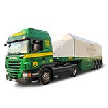 glass transport trucks