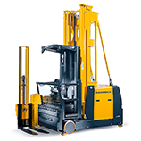 Articulated forklifts