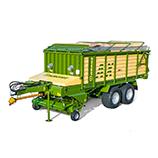 Self-loading wagons