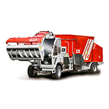 Self propelled feed mixer
