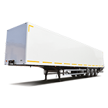 Isothermal semi-trailers