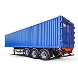 Container chassis semi-trailers
