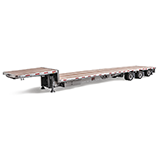 Low bed semi-trailers