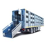 Livestock semi-trailers