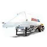 Flour transport tanks