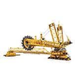Bucket-wheel excavators