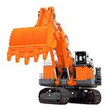 Front shovel excavators