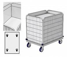 Federbodenwagen ML 8661-0.9 (Transportwagen) für Wäschelogistik