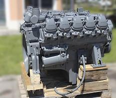 Dieselmotor MAN D2530ME, Nur 8000 Betriebsstunden!