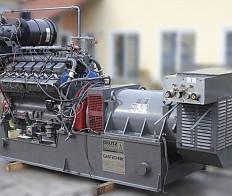 Notstromgenerator TBG -234 V12, Nur 3000 Betriebsstunden !!!