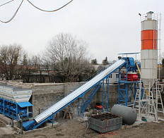 Sale Concrete Batching Plant, capacity is 30 m3/h