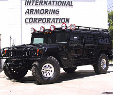 HUMMER H1 armored