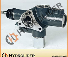 """The hydraulic distributor on 3 bolts (1 """", 3/4"""") 110l / min on the dump truck"""