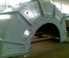 Production and supply of spare parts for mills MShR, MShTs, MSC, ShBM