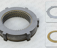 CARRARO SPARE PARTS - CLUTCH PACKAGE TYPES - OEM PARTS
