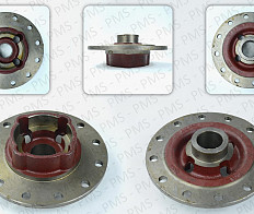 CARRARO SPARE PARTS-DIFFERENTIAL BOX LID TYPES-OEM