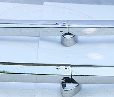 BMW 700 bumper  (1959–1965) by stainless steel
