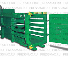 Horizontal baling press PRESSMAX ™ 730 for recyclable materials