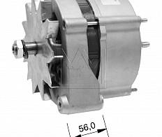 0120469030, 0120469585, 0986034430 Alternator Bosch 28V 55A